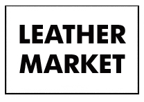LEATHER MARKET SIGN