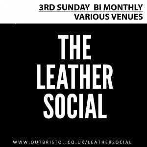 LEATHER SOCIAL ICON