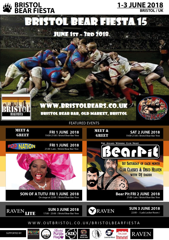 bristol bear fiesta poster 2018